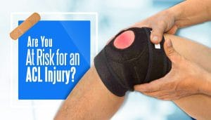 sports injury athletes at risk for an ACL injury