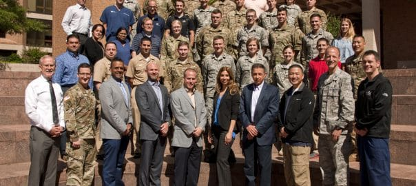 dr sampson and dr aufiero lecture on orthobiologics for military physicians at walter reed uniformed services university 5ff3619b3f6e2