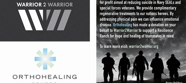 orthohealing center supports us navy seals special forces veterans with complimentary treatments annual donation on behalf of colleagues in community 5fefc64c467dd